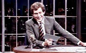 David Letterman Desk Extra Top Ten Lists
