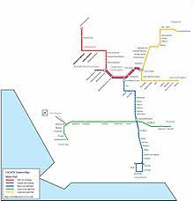 la metro rail map getting around los angeles by rail metro rail wikibooks open