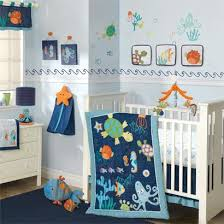 Underwater Crib Bedding The Sea Baby Bedding Sea Turtle And Underwater Adventure
