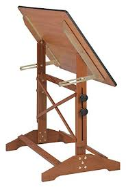 Alvin Drafting Table Alvin Ap442wbr Pavillon And Drawing Table Cherry Melamine Top