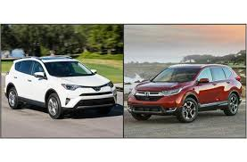 toyota rav vs honda crv 2017 toyota rav4 vs 2017 honda cr v to u s