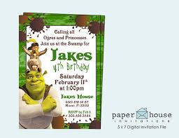 37 best luke u0027s 4th birthday party images on pinterest shrek