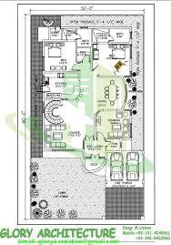 houses plan 50x90 house plan 1 kanal modern house plan house
