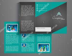 trifold brochure templates tri fold brochure template free vector
