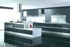 High Gloss Black Kitchen Cabinets High Gloss Kitchen Cabinets Or Jet Black High Gloss 94 High Gloss