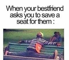 Save Me Meme - save me a seat