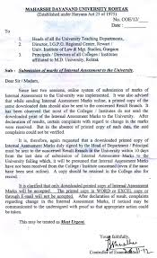 Sample Evaluation Essay Paper Maharshi Dayanand University Rohtak