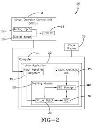 patent us7860614 trainer for robotic vehicle google patenten