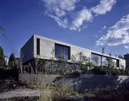 Glass And Concrete House by Contemporary House Beton And Glass Solid Wood Passion Original
