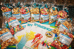 popcorn favor bags tin roof popcorn company popcorn bags