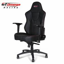 Race Chair Gt Omega Master Xl Racing Office Chair Black Leather