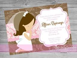 communion invitations for girl communion invitations girl smart worker communion