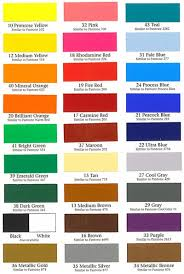 color charts boat dealers supply company