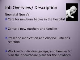 Nicu Nurse Job Description Resume by All You Need To Know About Neonatal Nurse Salary