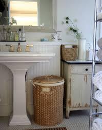 Wicker Bathroom Cabinet 33 Clever U0026 Stylish Bathroom Storage Ideas Wicker Storage For