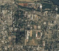 Portland Oregon Google Maps by Aerial Photograph Collection Uo Libraries