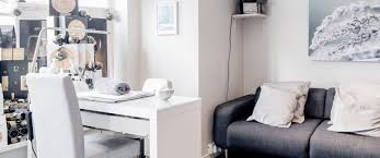 welcome lavender and stone beauty rooms