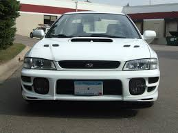 white subaru hatchback fs 2001 subaru impreza 2 5rs sedan mnsubaru