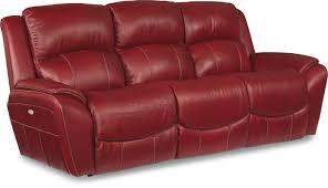 Brown Leather Recliner Sofas La Z Boy Barrett Leather Reclining Sofa Reviews Wayfair