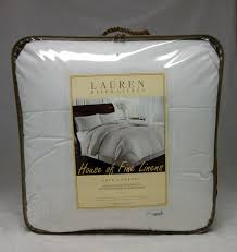ralph lauren king down comforter lauren ralph lauren 500 thread count dobby stripe goose down