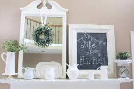 decorate your mantel farmhouse summer mantel my life from home