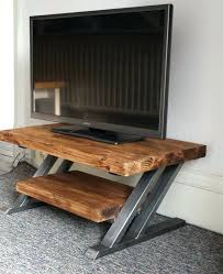 Design For Oak Tv Console Ideas Hardwood Tv Stands Best Metal Stand Ideas On Stand Metal And