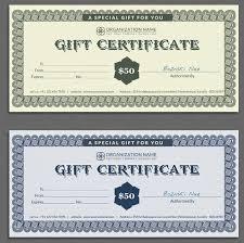 16 restaurant gift certificate templates u2013 free sample example