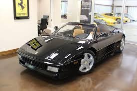ferrari classic convertible 1994 ferrari 348 spider 28385 miles black convertible 3 4l v8