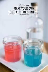 Bathroom Air Fresheners Diy Bathroom Air Freshener Made With Gelatin And Essential Oils