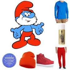 easy smurf costume pattern change colour gnomes ve