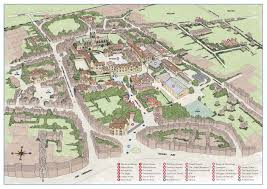 Exeter England Map by Sherborne Independent Boys Boarding Uk