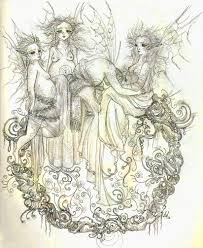 circle of the pregnant fairies by lilpip on deviantart