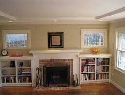 how to build bookshelves around a fireplace hgtv building