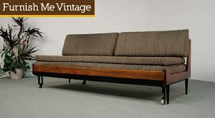 Day Bed Sofa by Vintage Danish Style Trundle Daybed Sofa