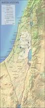 Jordan River Map Israeli Palestinian Water Systems Cosmolearning History