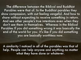 biblical and buddhist parables by lerahn white