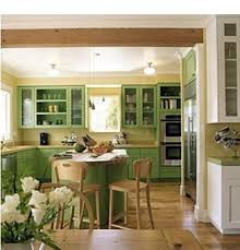 Green Cabinet Kitchen by Kitchen Room Design Espresso White Paint Distressed Wooden Panel