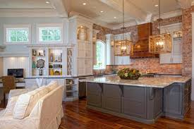kitchen brick backsplash the benefits to use brick kitchen backsplash the way home decor