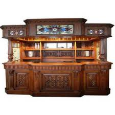 irish fitzpatrick solid mahogany tavern home pub ireland bar with