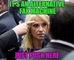 Fax Meme - alternative facts rofl imgflip