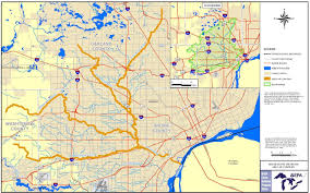 Michigan County Map With Roads by Rouge River Michigan Great Lakes Tributary Modeling Program