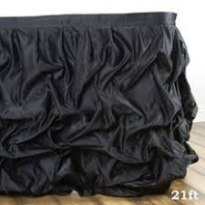 black tulle table skirt ruffled tulle skirts tableclothsfactory com