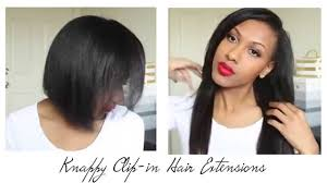 knappy clip in hair extensions knappy clip in extensions youtube