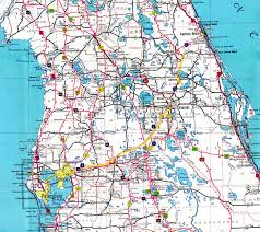 Map Of East Coast Florida by Interstate Guide Interstate 4
