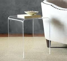 Accent Side Table Acrylic Side Table U2013 Tratamientos Co