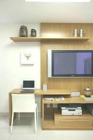 Tv Computer Desk Desk Tv Stand Combo Within Computer Desk Tv Stand Combo Decorating