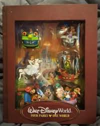 disney storybook ornament set four parks one world park rides
