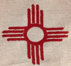New Mexican Flag New Mexico Embroidery Design U2013 Machine Embroidery Geek