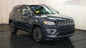 what is a jeep compass 2018 jeep compass limited sport utility in braintree j15390