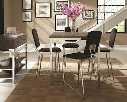 Casual Dining Room Sets Coaster Eldridge Casual Dining Table With Weathered Table Top And